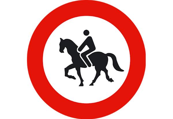 senales-de-trafico-raras-en-espana-señal-jinetes