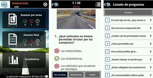 mejores app para test de conducir 2019-vialtest