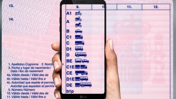 permiso de conducir correos-app de la dgt