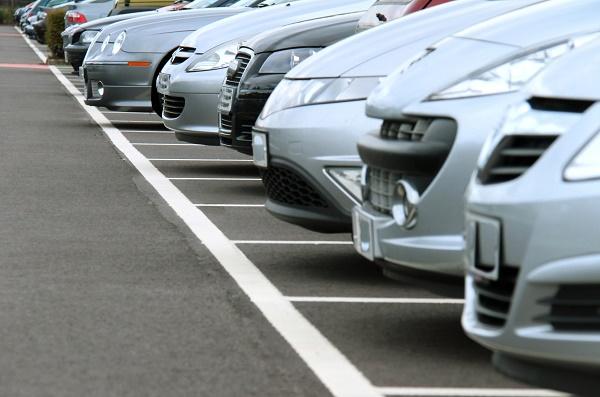 cómo aparcar en el examen-oblicuo