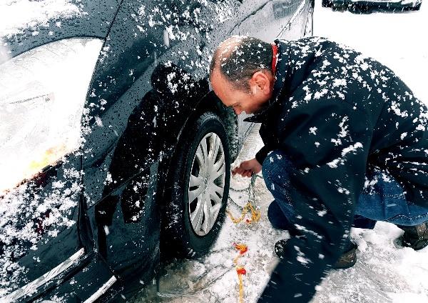conducir con nieve un coche automático