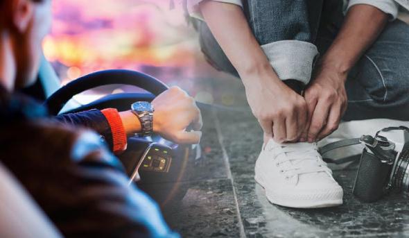 conducir con calzado de seguridad dgt