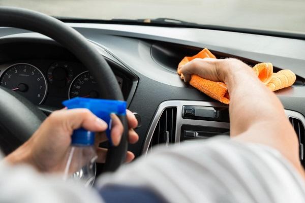 tips para conducir de manera segura durante el Covid19-higiene